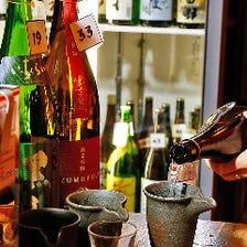 47都道府県日本酒<80銘柄>飲み放題