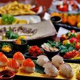 <女子会コース> 大好評!本格海鮮料理&美味しい逸品料理満載