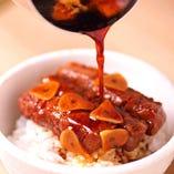 黒毛和牛ブリ肉ご飯(シャトーブリアン)