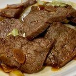 【テイクアウト】黒毛和牛ヒレ 味付け焼肉 タレ、野菜セット