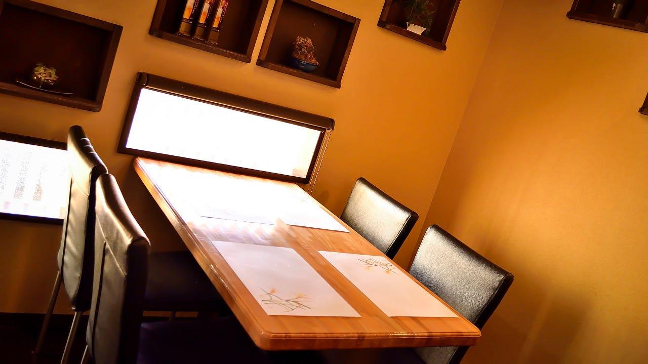 テーブル席・6名様~20名様