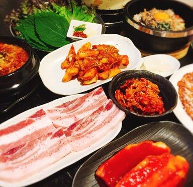 韓国料理 炭火焼肉 龍ちゃん  コースの画像