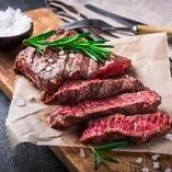 極上のA5和牛のステーキを贅沢に!