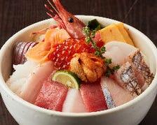 海鮮贅沢丼