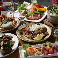 旬味と三重名物が満載のコース料理!