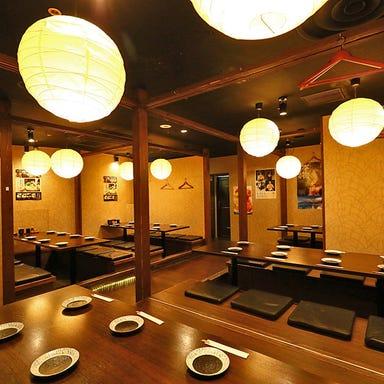 個室 泳ぎイカ 九州うまか 梅田店 店内の画像