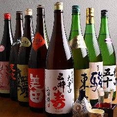 【多彩な日本酒も魅力】こちらも九州の銘柄を揃えています