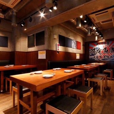 ビアテラス&海鮮居酒屋 遊友魚港(ゆうゆうぎょこう) 店内の画像