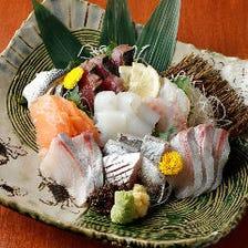 豊洲市場直送鮮魚のお刺身がおすすめ