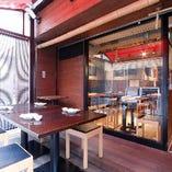 風通しの良いテラス席で夕涼みはいかがですか?昼飲みも大歓迎です!