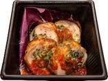 若鶏もも肉のインボルティーニ マリナーラソース