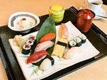 にぎり寿司ランチ「梅」