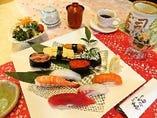 にぎり寿司ランチ「竹」