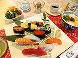 にぎり寿司ランチ「松」