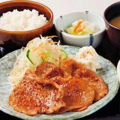豚しょうが焼定食(4枚)