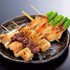 串焼き5種盛合せ