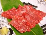 秋田産 超新鮮、これぞ本物の霜降り肉の馬刺