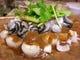 牡蠣の朴葉味噌焼