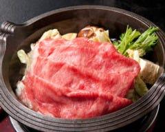 【雪】山形牛のすき焼きコース