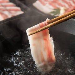 鹿児島黒豚しゃぶしゃぶ あじと 福岡中洲店