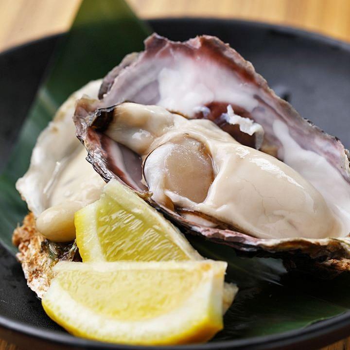 厳格な検査を通った新鮮牡蠣を使用