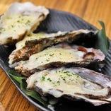 ワインチーズ蒸し牡蠣