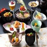 旬の味、伝統の加賀料理をお楽しみください。