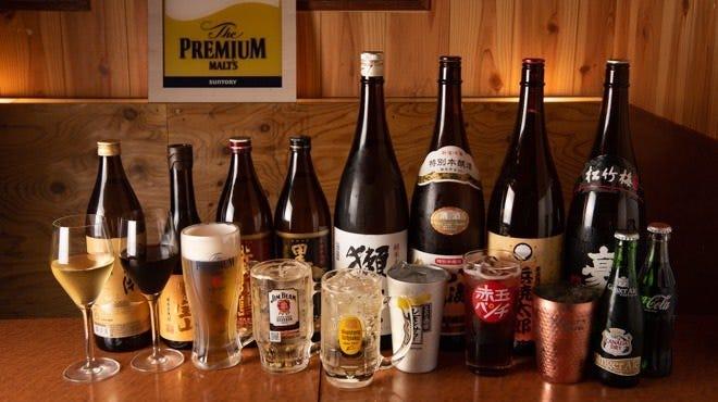 ■厳選した各種日本酒・焼酎