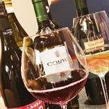 """""""30種以上のワイン"""" 味わい深いワインを取り揃えております。"""
