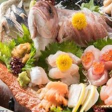 新鮮な海鮮をお刺身で!