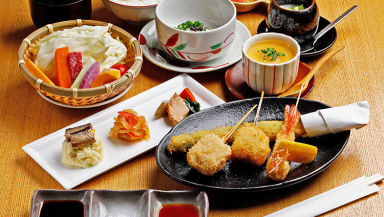 北新地 串料理 北銀扇  コースの画像