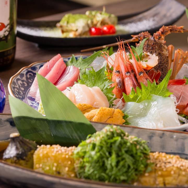 四季を感じていただける【旬】にこだわった厳選食材を使用。