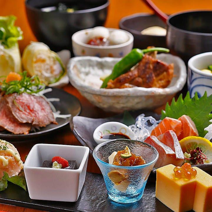 奈良の地場食材をふんだんに使用したコースを多数ご用意