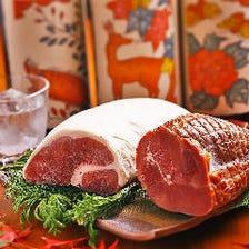 奈良県産の鹿肉&猪肉を味わう