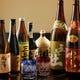 日本酒以外にも焼酎も各種取り揃えています。