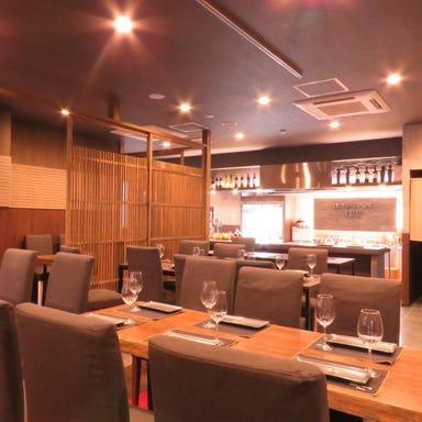 Teppan dining YUU 倉敷店(てっぱんだいにんぐゆう)  店内の画像