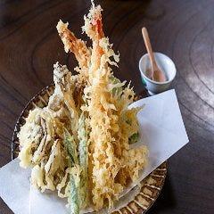 串天ぷら盛り合わせ