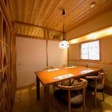 【テーブル席/2~4名様】お誕生日や結婚記念日など、特別を演出する少人数個室