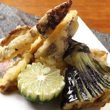 旬野菜天ぷら