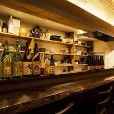 料理に合う地酒や日本酒を多数ご用意
