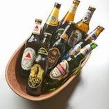 インドとスリランカのビールの他にも世界のビール揃えてます★