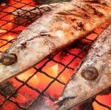 旬魚の焼き魚