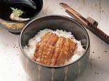 うなぎ丼 1,930円(税込み)