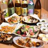 魚料理やお肉料理をたっぷり堪能する宴会コース4,950円〜