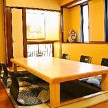 完全個室の和空間で優雅なひと時を…
