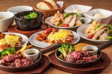 肉バル ガブット 茨木店  コースの画像