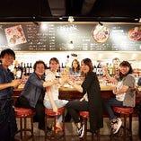 気軽に立ち寄れる、茨木駅前のお洒落な肉バルです★