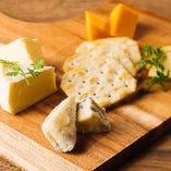 チーズ4種盛り合わせ
