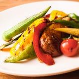 季節の焼野菜盛り合わせ