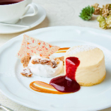 「リコッタチーズのベイクドチーズケーキ」